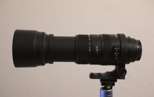 Neue Hardware: Sigma 120-400 mm F4,5-5,6 DG OS HSM